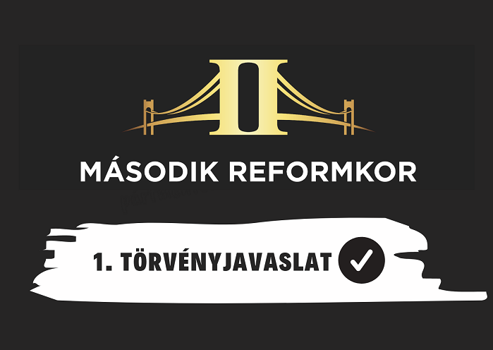 Elkészült az első törvényjavaslat